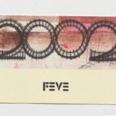 Coleccionismo Calendarios: LOTE C CALENDARIO FEVE 2002. Lote 218243356
