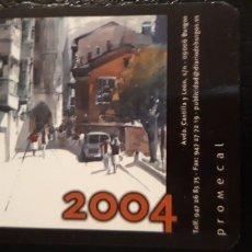 Coleccionismo Calendarios: .1 CALENDARIO DE **. DIARIO DE BURGOS ** AÑO 2004. Lote 180186410