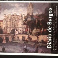 Coleccionismo Calendarios: .1 CALENDARIO DE **. DIARIO DE BURGOS ** AÑO 2003. Lote 180186542