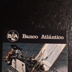 Coleccionismo Calendarios: .1 CALENDARIO DE **. BANCO ATLANTICO ** AÑO 1987. Lote 180187331