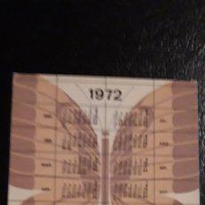 Coleccionismo Calendarios: .1 CALENDARIO DE **. AGROMAN COSTRUCTORA ** AÑO 1972 / 197 MINUTOS 3. Lote 180187635