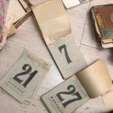 Coleccionismo Calendarios: LOTE CALENDARIOS BONAVIA 1946 Y 1950. Lote 180289188