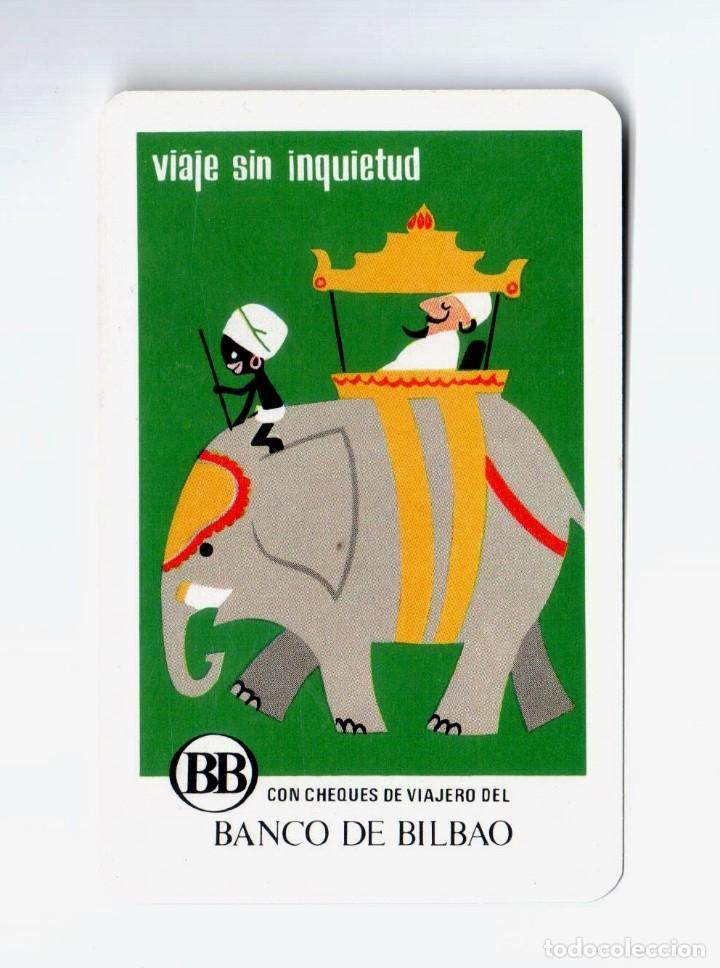 CALENDARIO FOURNIER. 1971. BANCO BILBAO CHEQUES (Coleccionismo - Calendarios)