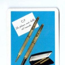 Coleccionismo Calendarios: CALENDARIO FOURNIER. 1971. WATERMAN. MUY BUENO. Lote 180369215