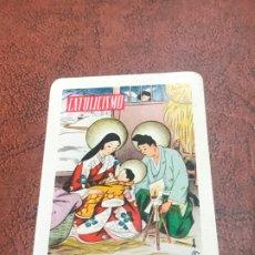 Coleccionismo Calendarios: CALENDARIO FOURNIER. CATOLICISMO. 1961. Lote 180402621