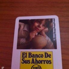 Coleccionismo Calendarios: CALENDARIO FOURNIER EL AHORRO DE SUS SERVICIOS, BANCO DE BILBAO AÑO 1975. Lote 180489352