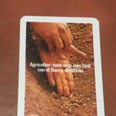 Coleccionismo Calendarios: CALENDARIO FOURNIER 1974. BANCO DE BILBAO. Lote 180494532