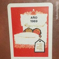 Coleccionismo Calendarios: CALENDARIO FOURNIER CAJA DE AHORROS DE NAVARRA AÑO 1969 . Lote 180495360