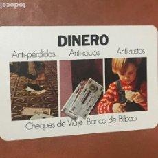 Coleccionismo Calendarios: CALENDARIO FOURNIER BANCO DE BILBAO AÑO 1975. Lote 180501157