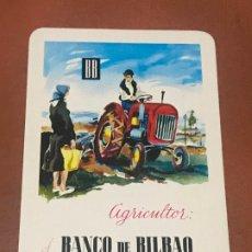 Coleccionismo Calendarios: CALENDARIO FOURNIER, PUBLICIDAD BANCO BILBAO , 1964 , ORIGINAL. Lote 180501241