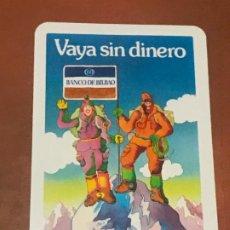 Coleccionismo Calendarios: CALENDARIO FOURNIER BANCO DE BILBAO AÑO 1977. Lote 180501386