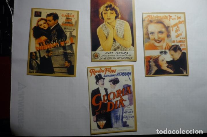 LOTE CALENDARIOS CINE 1947 (Coleccionismo - Calendarios)