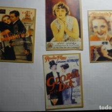 Coleccionismo Calendarios: LOTE CALENDARIOS CINE 1947. Lote 180503832