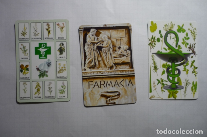 LOTE CALENDARIOS FARMACIA 2009 -2010 (Coleccionismo - Calendarios)