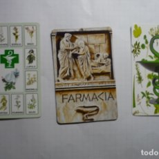 Coleccionismo Calendarios: LOTE CALENDARIOS FARMACIA 2009 -2010. Lote 180504726