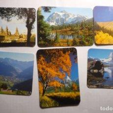Coleccionismo Calendarios: LOTE CALENDARIOS DIF. AÑOS PAISAJES. Lote 180504910