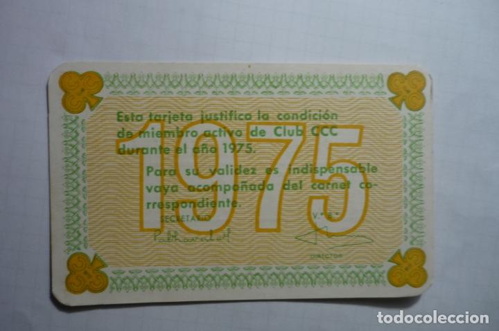 CALENDARIO CLUB CCC S.SEBASTIAN 1975 (Coleccionismo - Calendarios)