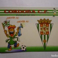 Coleccionismo Calendarios: CALENDARIO FUTBOL CORDOBA 2007. Lote 180505106