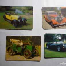 Coleccionismo Calendarios: LOTE CALENDARIOS COCHES ANTIGUOS AÑOS 2000. Lote 180507016