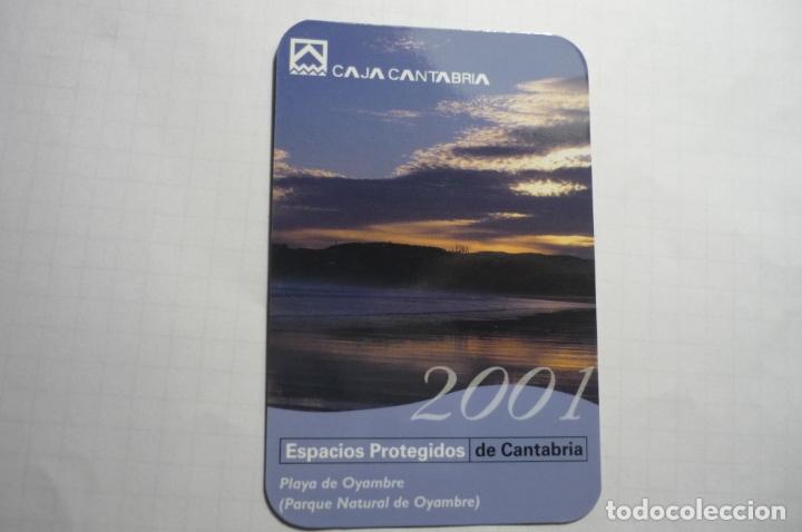CALENDARIO 2001 CAJA CANTABRIA (Coleccionismo - Calendarios)