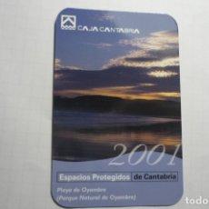 Coleccionismo Calendarios: CALENDARIO 2001 CAJA CANTABRIA. Lote 180507217
