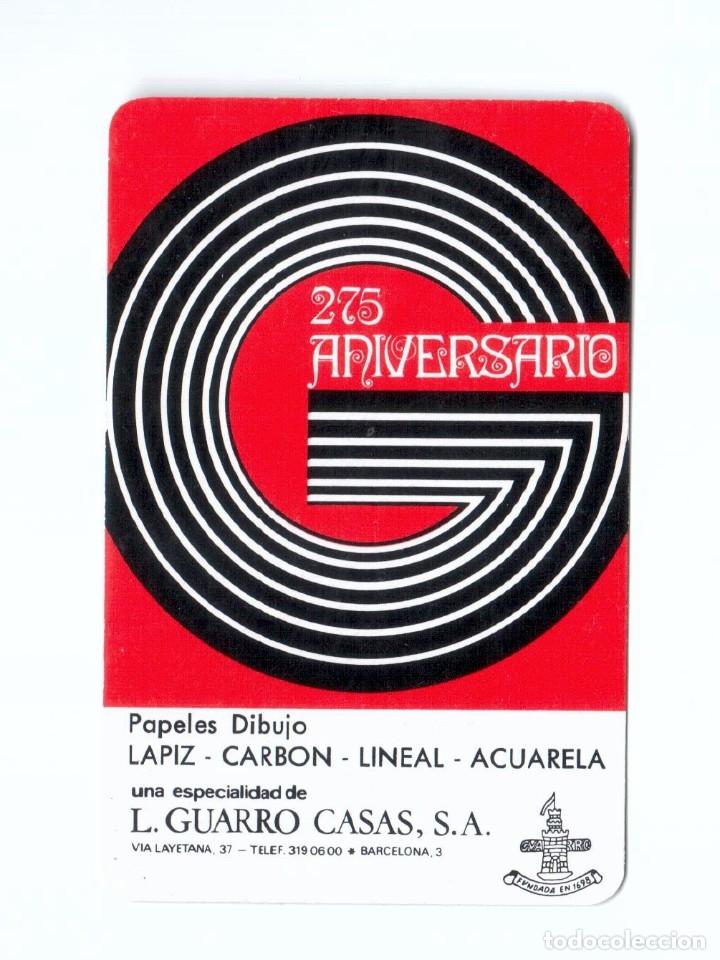 CALENDARIO FOURNIER. 1973. GUARRO CASAS. MUY BUENO (Coleccionismo - Calendarios)