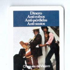 Coleccionismo Calendarios: CALENDARIO FOURNIER. 1974. BANCO BILBAO. CHEQUES. Lote 181195793