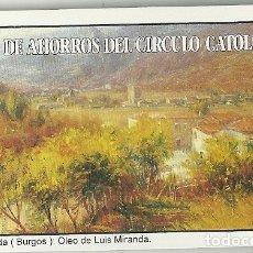 Coleccionismo Calendarios: CALENDARIO FOURNIER. CAJA DE AHORROS DEL CÍRCULO CATÓLICO. AÑO 1997 . Lote 181705960