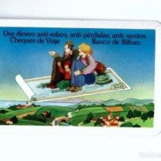 Coleccionismo Calendarios: CALENDARIO FOURNIER. 1977. BANCO DE BILBAO CHEQUES. Lote 181749436
