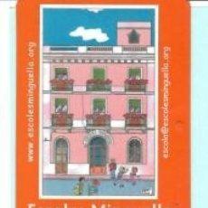Coleccionismo Calendarios: CALENDARIO DE PUBLICIDAD ESCOLES MINGUELLA DE BADALONA DEL AÑO 2007 CAT . Lote 182010982