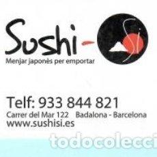 Coleccionismo Calendarios: CALENDARIO DE PUBLICIDAD SUSHI COMIDA DE BADALONA DEL AÑO 2013 ESP . Lote 182011548