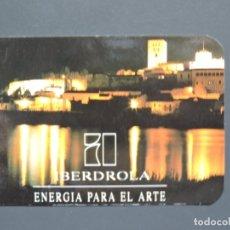 Coleccionismo Calendarios: CALENDARIO BOLSILLO - IBERDROLA - MADRID - AÑO 1993. Lote 182011586