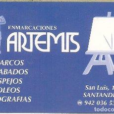 Coleccionismo Calendarios: CALENDARIO PUBLICITARIO - 2008 - ENMARCACIONES ARTEMIS - SANTANDER. Lote 182124157
