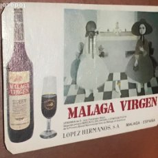 Coleccionismo Calendarios: MÁLAGA VIRGEN. CALENDARIO PUBLICITARIO DEL AÑO 1974. 6,7 X 10,2 CMS.. Lote 182130108