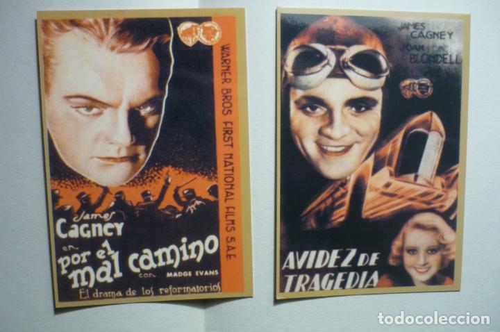 LOTE CALENDARIOS CINE PELICULAS DE JAMES CAGNEY 1947 (Coleccionismo - Calendarios)
