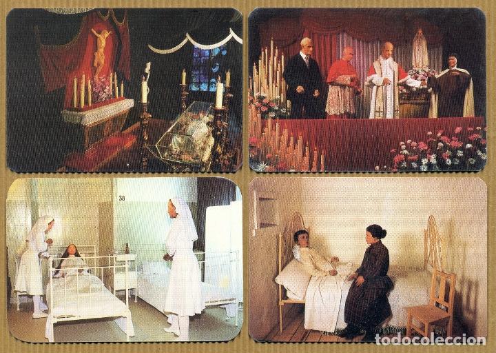 4 CALENDARIOS BOLSILLO - MUSEO DE CERA DE FATIMA 1991 (Coleccionismo - Calendarios)