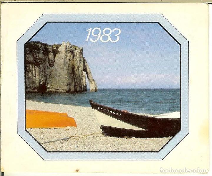CALENDARIO DE BOLSILLO DE FRANCIA - 1983 - LES FILS DE D. SOUCHET (Coleccionismo - Calendarios)