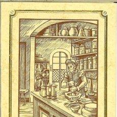 Coleccionismo Calendarios: CALENDARIO DE BOLSILLO DE FRANCIA - 1983 - L'APOTHICAIRE - MARC CHAUNIER. Lote 182643556