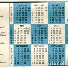 Coleccionismo Calendarios: CALENDARIO 1966 AMSTERDAM CAFE L'ESPERANCE. Lote 182873265