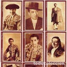 Coleccionismo Calendarios: -35464 9 CALENDARIOS TOREROS, AÑO 2009, GRANDES FIGURAS TAURINAS, EMISION PARTICULAR. Lote 183005326