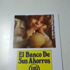 Coleccionismo Calendarios: CALENDARIO FOURNIER BANCO BILBAO 1975. Lote 183028156