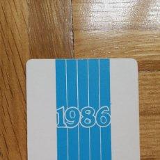 Coleccionismo Calendarios: CALENDARIO FROM - MINISTERIO DE AGRICULTURA PESCA Y ALIMENTACIÓN AÑO 1986 - VER FOTO ADICIONAL. Lote 183039598
