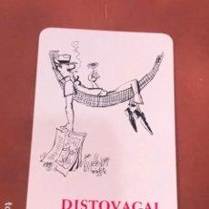 Coleccionismo Calendarios: CALENDARIO DE BOLSILLO DE FOURNIER DE 1968. PUBLICIDAD DE DISTOVAGAL. Lote 199318925