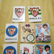 Coleccionismo Calendarios: LOTE 8 CALENDARIOS SEVILLA FC. Lote 183414065