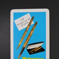 Coleccionismo Calendarios: CALENDARIO BOLSILLO - WATERMAN - FOURNIER - AÑO 1971. Lote 183759648