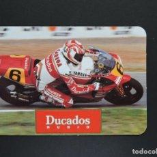Coleccionismo Calendarios: CALENDARIO BOLSILLO - DUCADOS TABACO MOTO - AÑO 1992. Lote 183824778