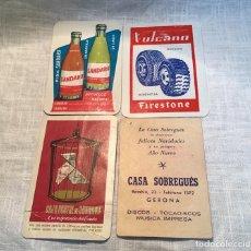 Coleccionismo Calendarios: CALENDARIOS BOLSILLO, AÑOS 60. Lote 183835383