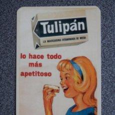 Coleccionismo Calendarios: CALENDARIO AÑO 2003 PUBLICIDAD TULIPÁN REPRODUCCIÓN CARTEL ANTIGUO. Lote 183864055