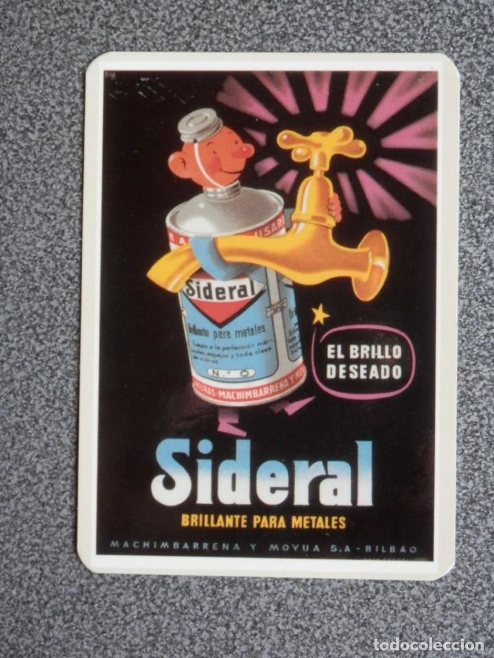 CALENDARIO AÑO 2003 PUBLICIDAD SIDERAL REPRODUCCIÓN CARTEL ANTIGUO (Coleccionismo - Calendarios)