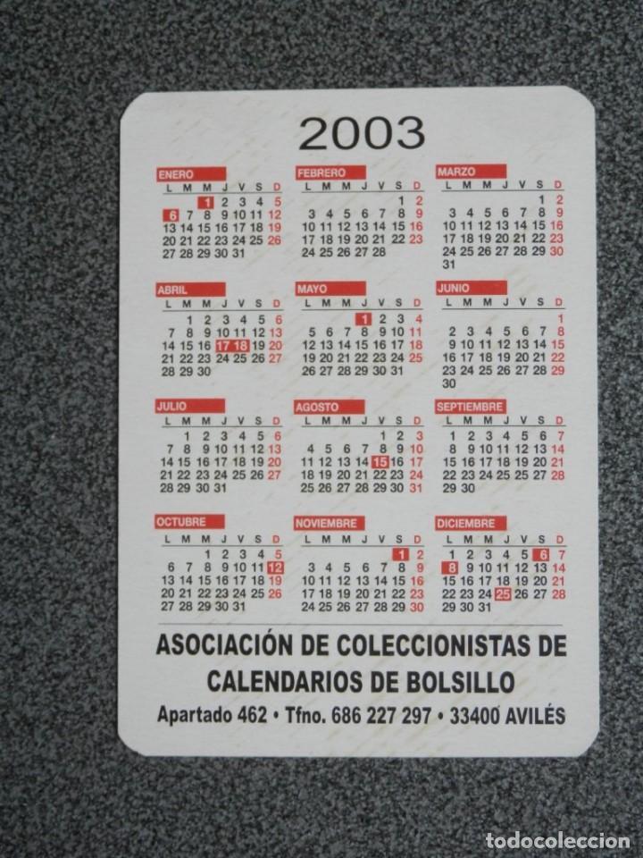 Coleccionismo Calendarios: CALENDARIO AÑO 2003 PUBLICIDAD SIDERAL REPRODUCCIÓN CARTEL ANTIGUO - Foto 2 - 183864818